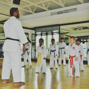 Karate and kick boxing classes for children in Mussafah Abu Dhabi