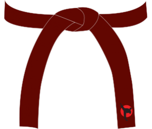Karate Red Belt