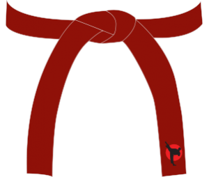 red belt of Children